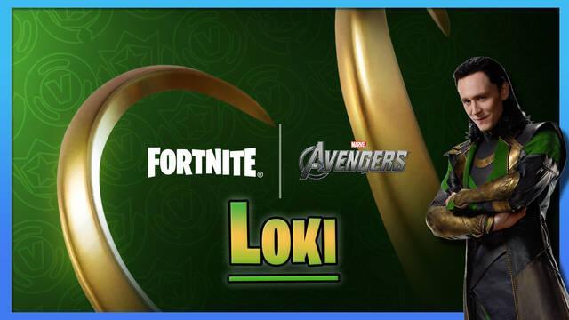 Fortnite: La skin de Loki estará disponible en el Club Fortnite de julio 2021