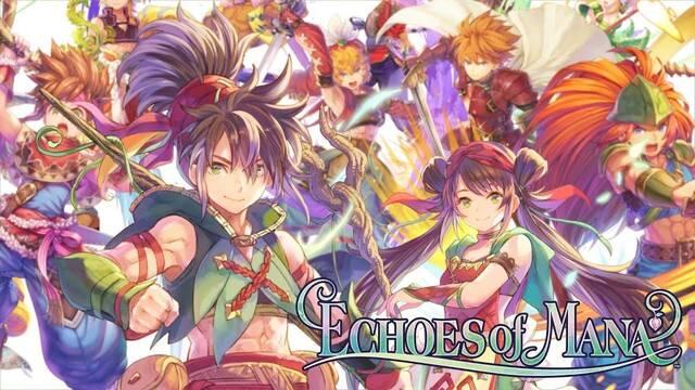 Echoes of Mana juego móviles Android iPhone gameplay fecha de lanzamiento