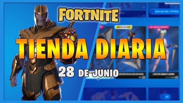 Fortnite Battle Royale - Portada de la Tienda diaria 28 de junio 2021