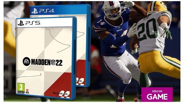 Madden NFL 22: Ya se puede reservar su edición física para PS4 y PS5 exclusiva de GAME.