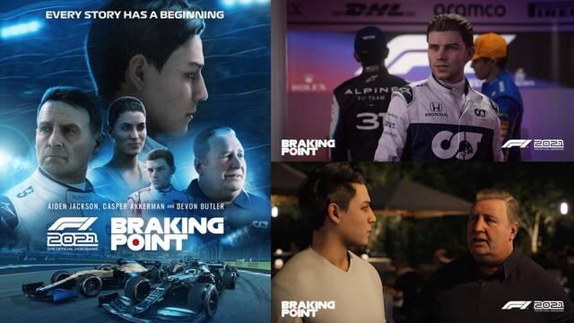 F1 2021: Primeras imágenes y detalles de Braking Point, su emocionante modo historia.