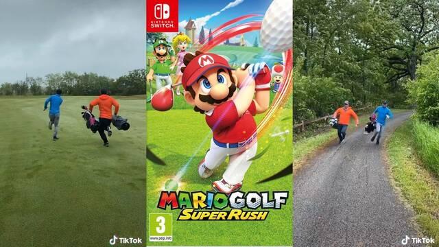 Usuario recrea el modo Golf Rápido de Mario Golf: Super Rush en la vida real