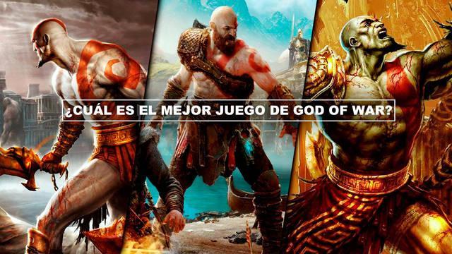 ¿Cuál es el mejor juego de God of War? TOP 7