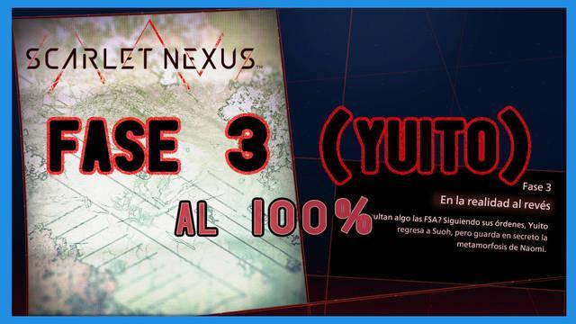 Fase 3: En la realidad al revés al 100% en Scarlet Nexus