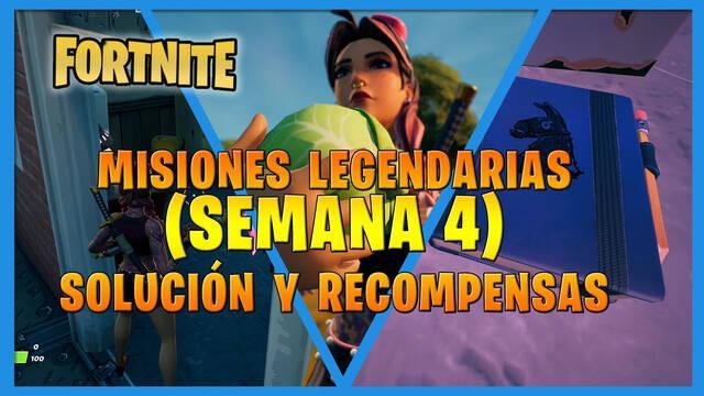 Fortnite T7: Misiones legendarias (Semana 4) - Solución y recompensas