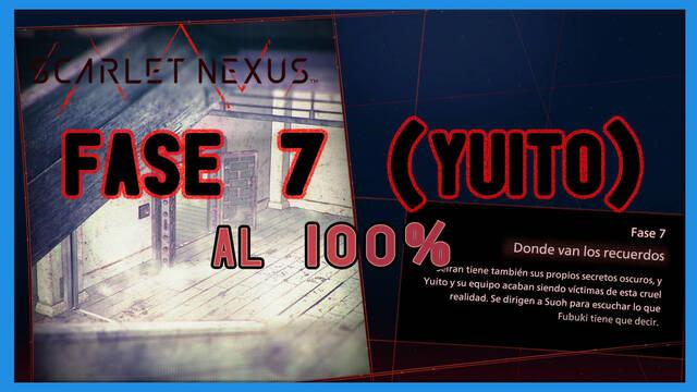 Fase 7: Donde van los recuerdos al 100% en Scarlet Nexus