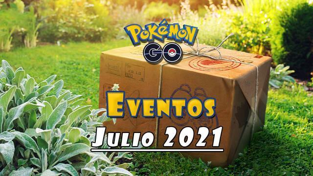 Pokémon GO: Eventos de julio 2021; festival, incursiones, horas destacadas y más