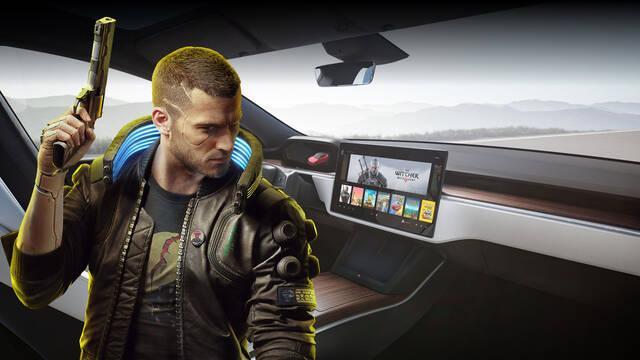 Los coches Tesla tienen suficiente potencia gráfica como para ejecutar Cyberpunk 2077