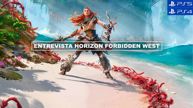 Entrevista Horizon Forbidden West: Todas las claves de una secuela muy esperada