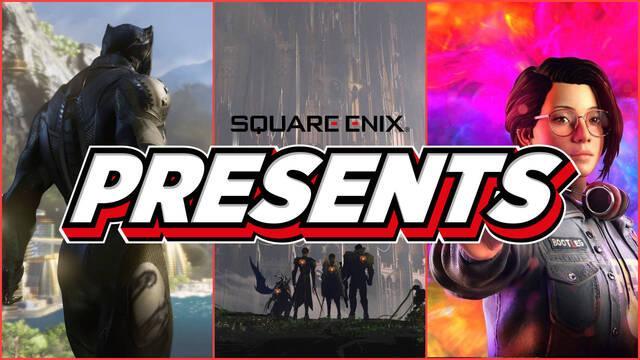 Square Enix Presents ver directo hora fecha E3 2021 conferencia