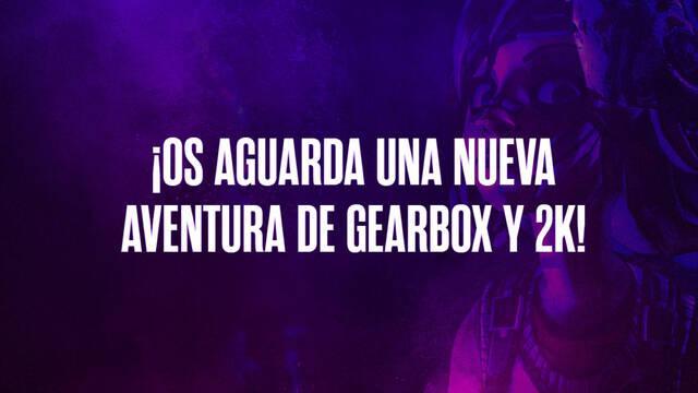 'Be Chaotic Great': Gearbox y 2K Games anunciarán su nuevo juego el 10 de junio.