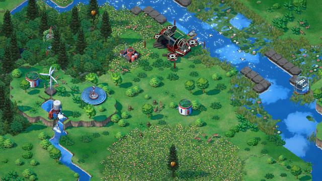 Terra Nil, el nuevo juego de Devolver Digital y Free Lives.