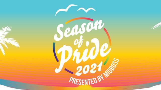 Season of Pride 2021 celebrará el impacto y la representación LGTBQ+ con ofertas y streamings.