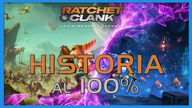 Historia en Ratchet & Clank: Una dimensión aparte al 100%