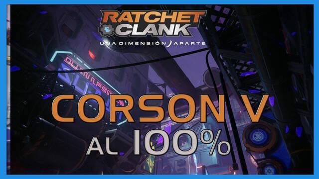 Corson V en Ratchet & Clank: Una dimensión aparte al 100%