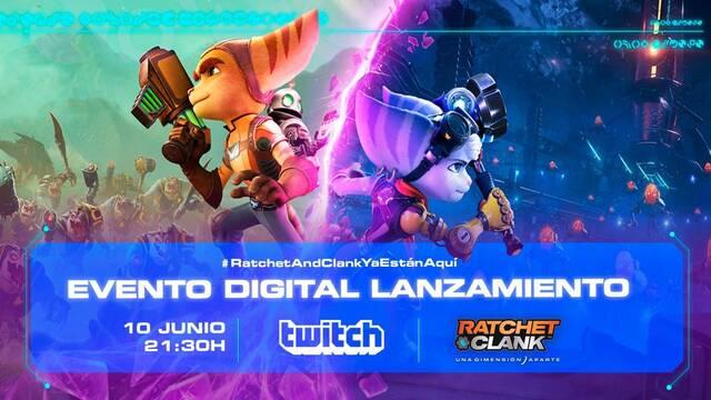 Ratchet & Clank: Una Dimensión Aparte y su evento de lanzamiento