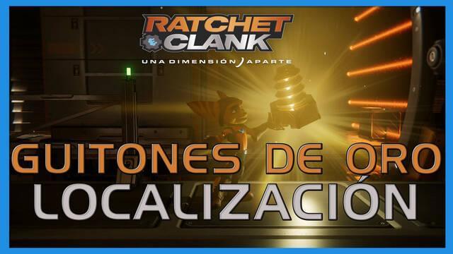 Guitones de oro en Ratchet & Clank: Una dimensión aparte - LOCALIZACIÓN