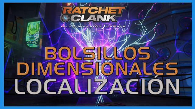 Bolsillos dimensionales en Ratchet & Clank: Una dimensión aparte - LOCALIZACIÓN