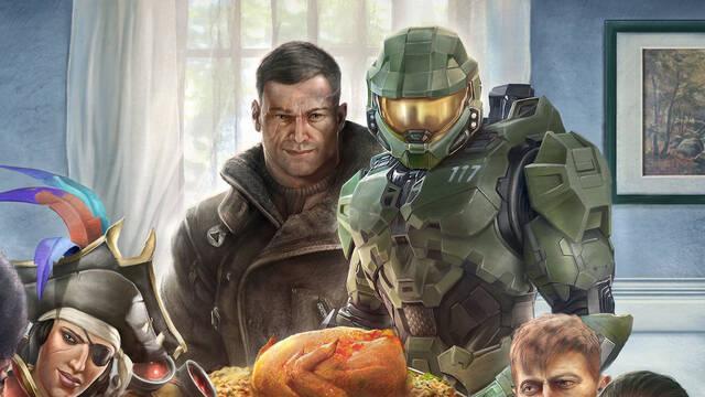 Xbox y Bethesda unen sus franquicias en esta especial ilustración.