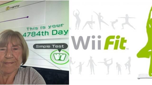 La abuela de Wii Fit