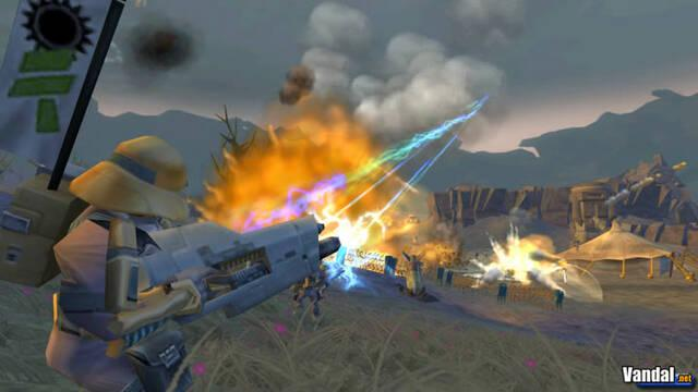 Nuevas imagen de Battalion Wars 2