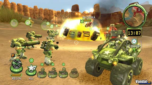 E3: Nuevas imágenes de Battalion Wars 2