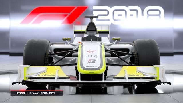 F1 2018 desvela todos sus coches clásicos