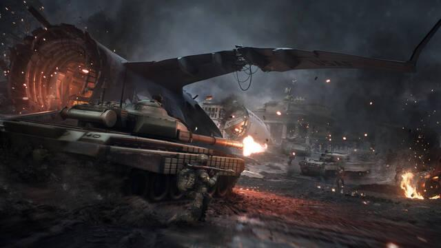World War 3 añade las partidas a muerte por equipo y un nuevo mapa