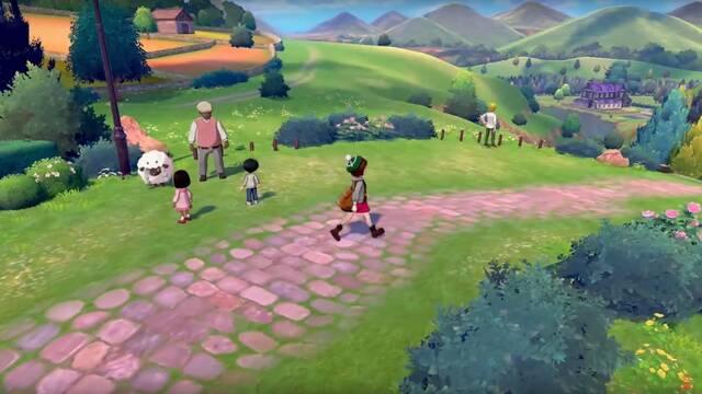 Pokémon Espada y Escudo: un nuevo tráiler muestra un pueblo, el Centro Pokémon y tiendas