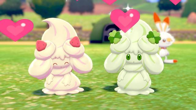 ¿Cómo evolucionar a Milcery en Alcremie en Pokémon Espada y Escudo?