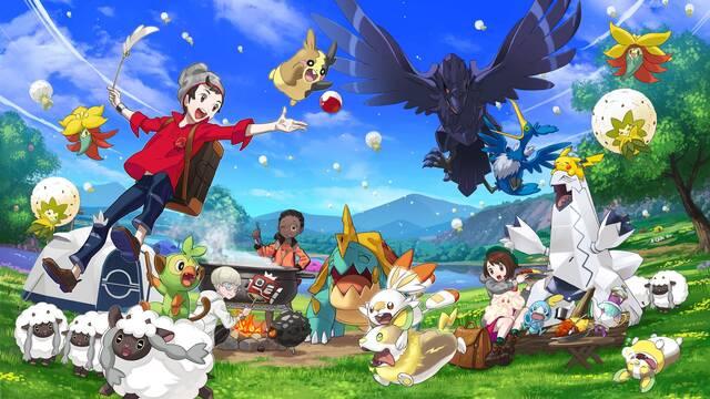 Pokémon Espada y Escudo pudo dejar atrás los combates por turnos
