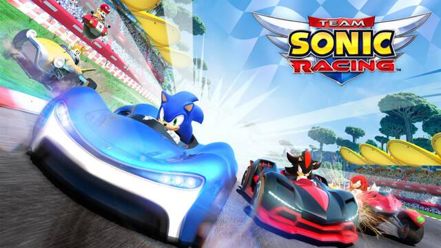 Team Sonic Racing se retrasa hasta primavera de 2019