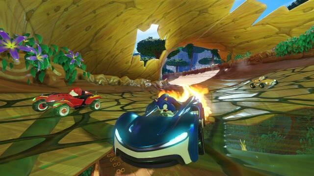Las mecánicas de Team Sonic Racing se lucen en un nuevo vídeo