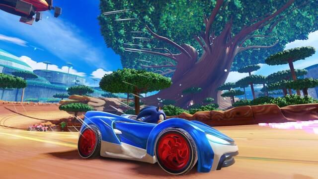 Team Sonic Racing muestra por primera vez su jugabilidad