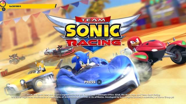 Sega explica el retraso que sufrió Team Sonic Racing
