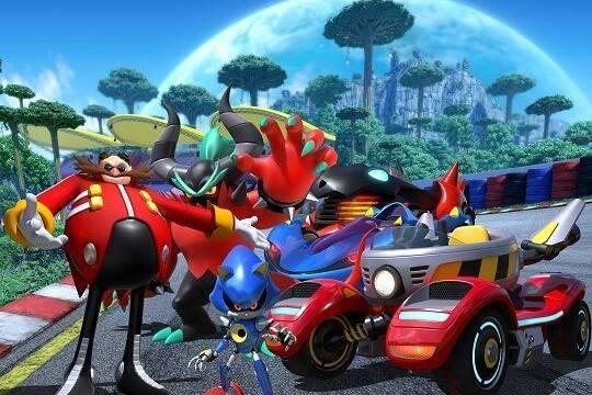 El Team Eggman se muestra en Team Sonic Racing