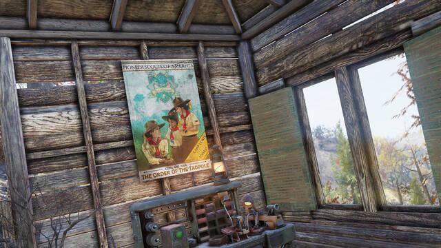 Fallout 76 recibirá a los Scouts y a las mochilas en su nuevo parche