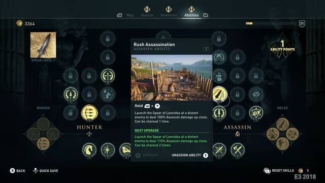 E3 2018: Se filtra un vídeo de Assassin's Creed Odyssey