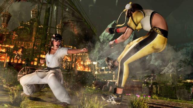 Dead or Alive 6 muestra a Lei Fang y Hitomi en acción