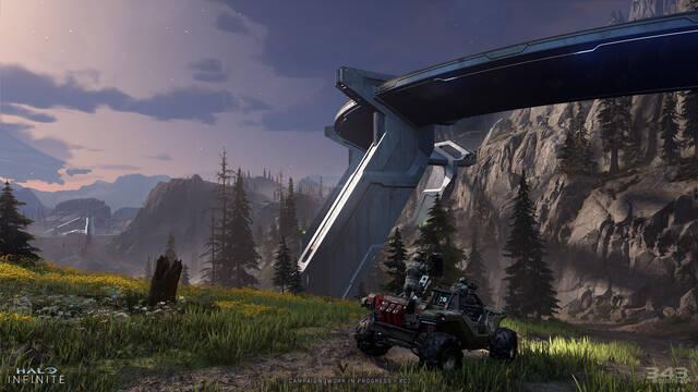 Halo Infinite gameplay mundo abierto