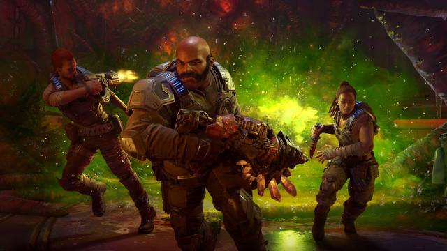 Gears 5 reduce considerablemente su input lag en Xbox Series X