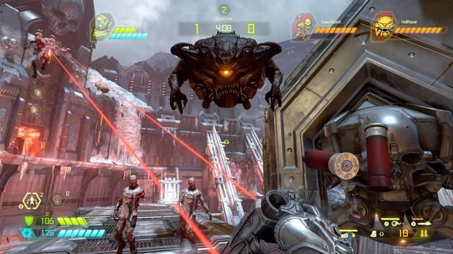 DOOM Eternal nos explica el funcionamiento de su multijugador Battlemode en vídeo