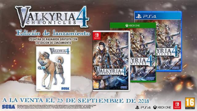 Valkyria Chronicles 4 llegará el 25 de septiembre a Xbox One, PS4, PC y Switch