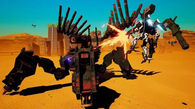 Daemon X Machina llega en verano y ya tiene demo