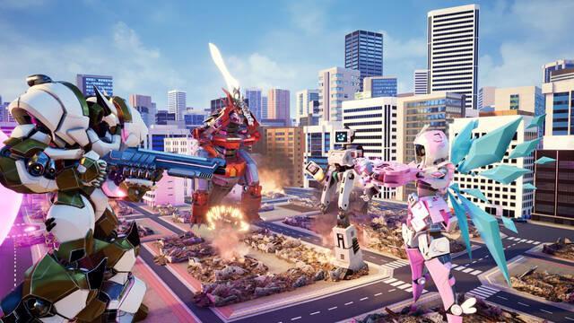 El futurístico Override: Mech City Brawl llegará el 4 de diciembre