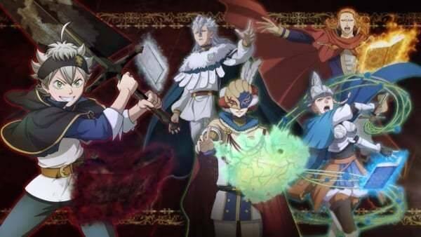Bandai Namco presenta Black Clover: Fantasy Knights para móviles
