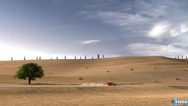 Toscana y la transición día y noche se muestran en Gran Turismo 5