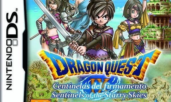 Square Enix celebrará el 11 de julio el 10º aniversario de Dragon Quest IX