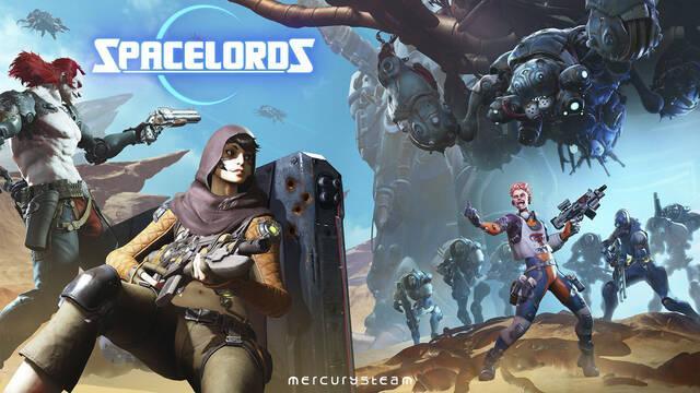 Spacelords ya está disponible gratuitamente