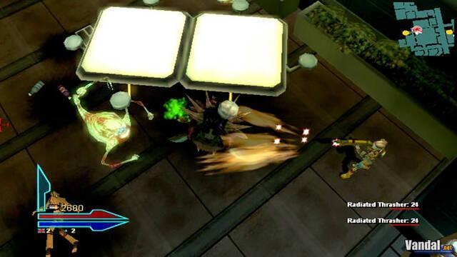 Nuevas imágenes de Alien Syndrome para PSP